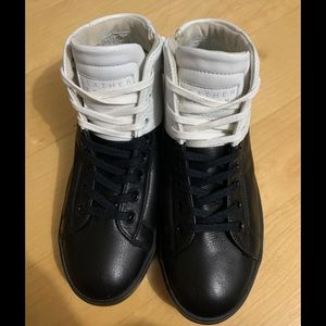 """LEATHER CROWN """"LCB"""" ICONIC HIGHTOP"""